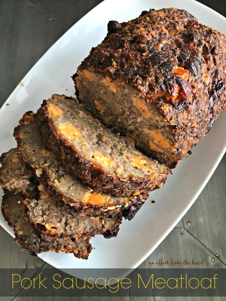Pork Sausage Meatloaf