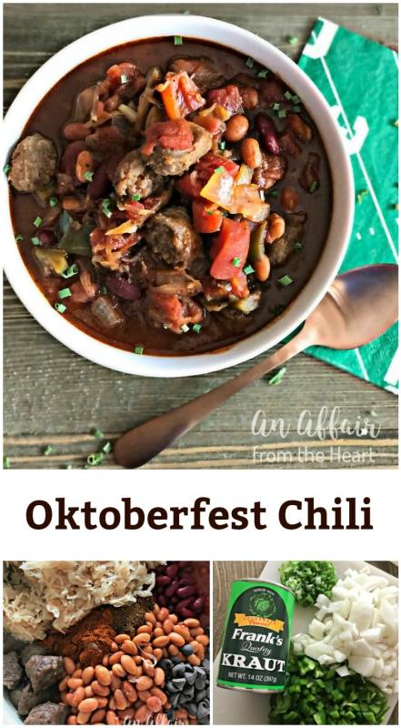 Oktoberfest Chili - An Affair from the Heart