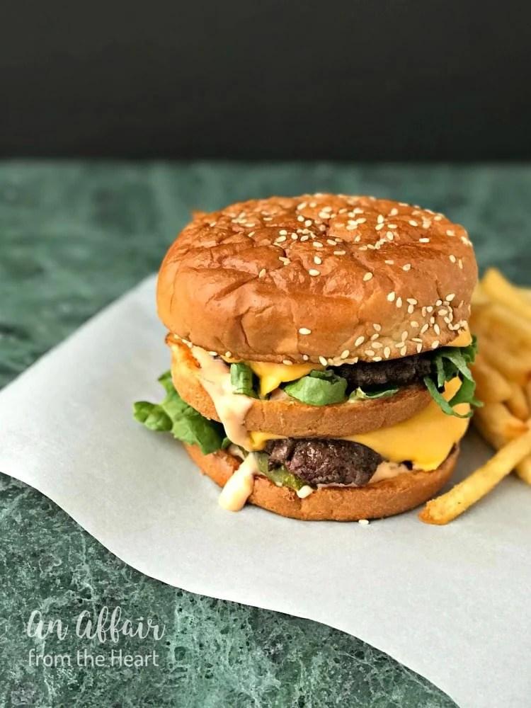 Copy Cat McDonald's Big Mac