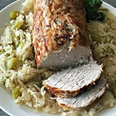 Pork Roast & Sauerkraut