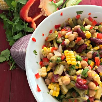 Mexican Four Bean Salad
