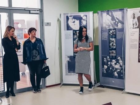 Izobraževanje in odprtje razstave na OŠ Ankaran