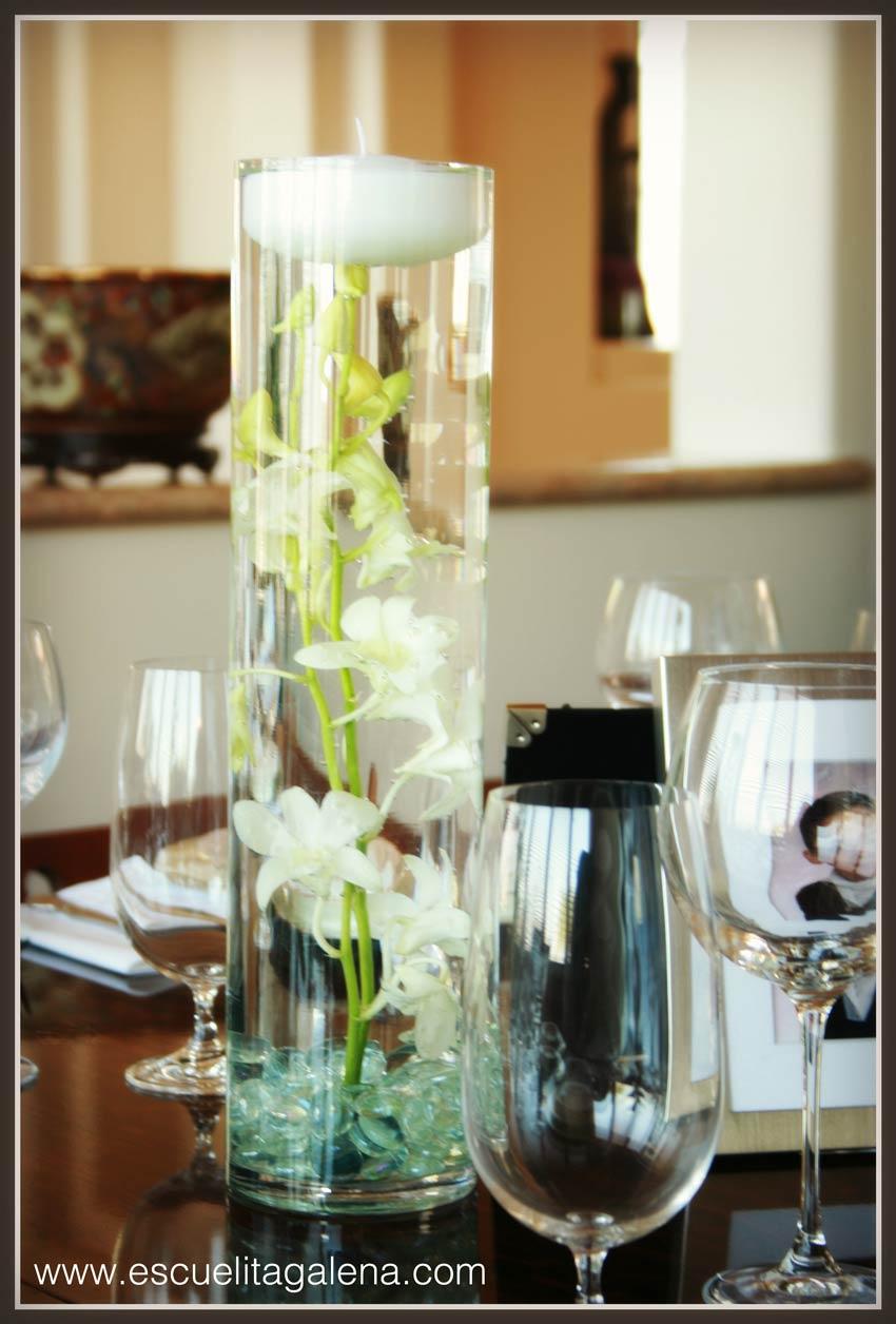 Centro de mesa moderno sencillo y elegante  Ana Galena