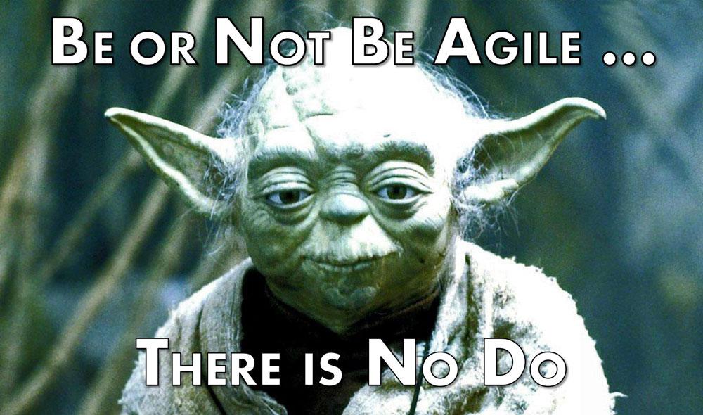 Yoda Meme Yoda-Be-or-Not-Be-Agile-Meme