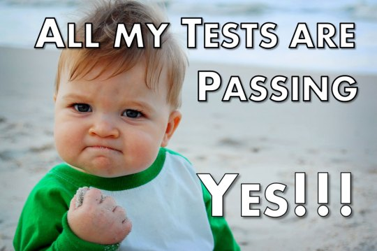 All My Tests Are Passing