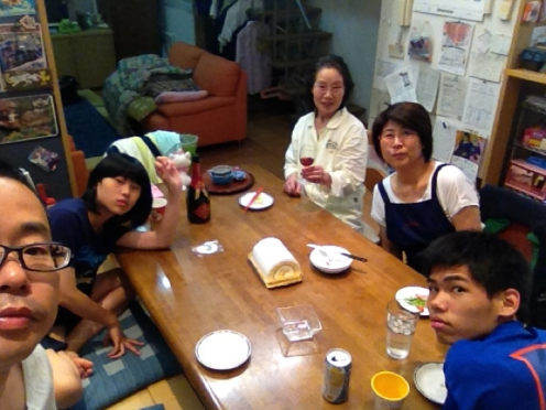 二世帯三世代家族
