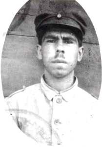 Ο Χριστόφας Χατζηπαναγιώτης όταν υπηρετούσε στο 22ο Σύνταγμα Πεζικού (1927)