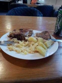 Lush lunch