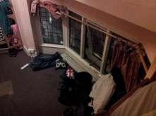 Taken from my bed in Backpacker's hostel