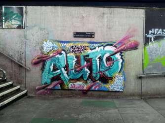 Graffities change often in Bristol