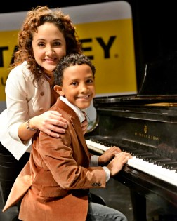 Nelba Márquez-Greene and son, Isaiah
