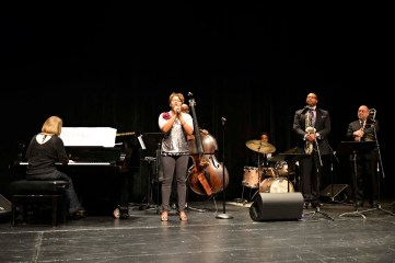 "Jimmy Greene and Friends; Latanya Farrell vocals, Jennifer Allen, piano ""Forever"""