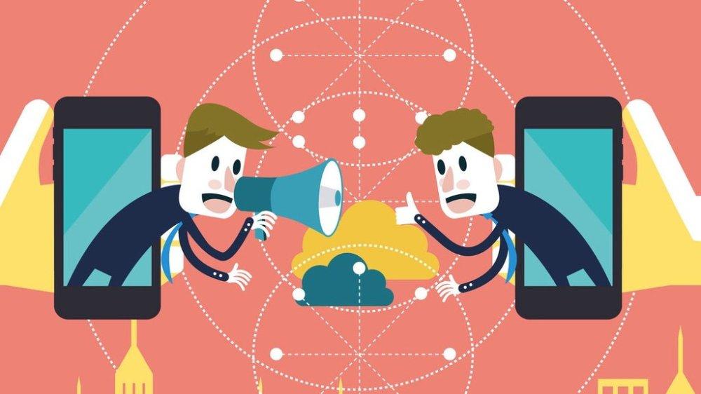 Comunicadores en redes sociales