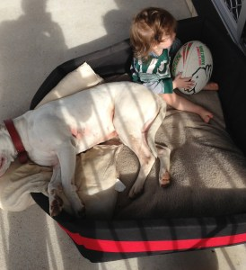 William in Bella's Bed