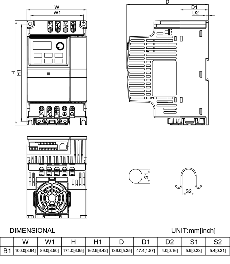 230V Micro VFD