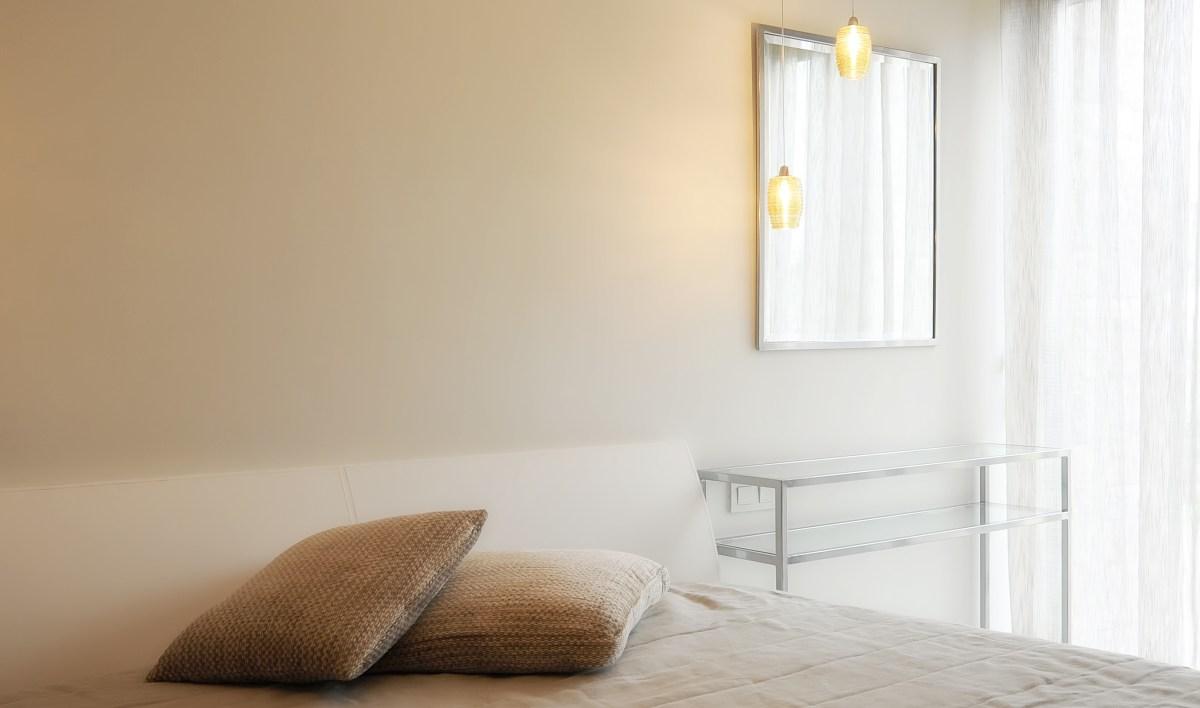 Minimalist furniture for interior design photography