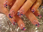 impression nail art and