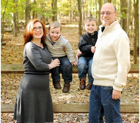 Virginia Fall Family Portrait Photographer