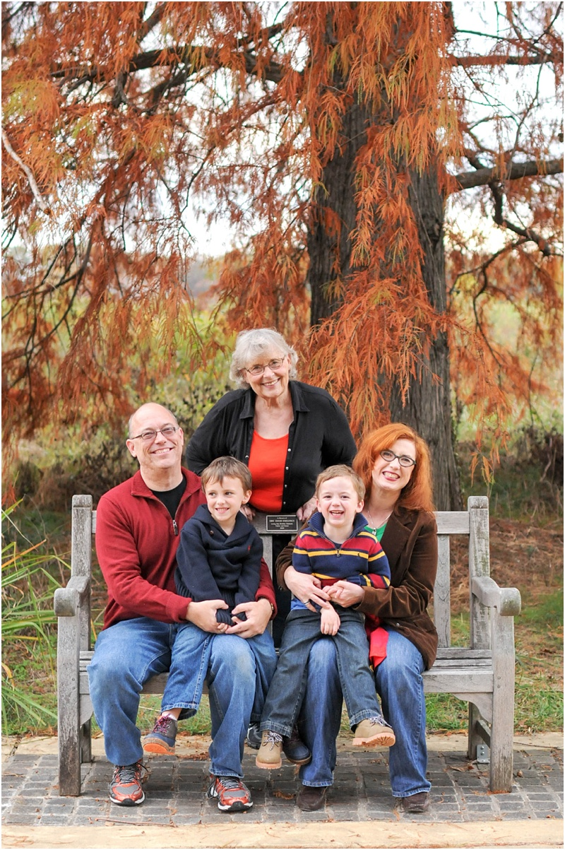 Family Portrait at the National Arboretum