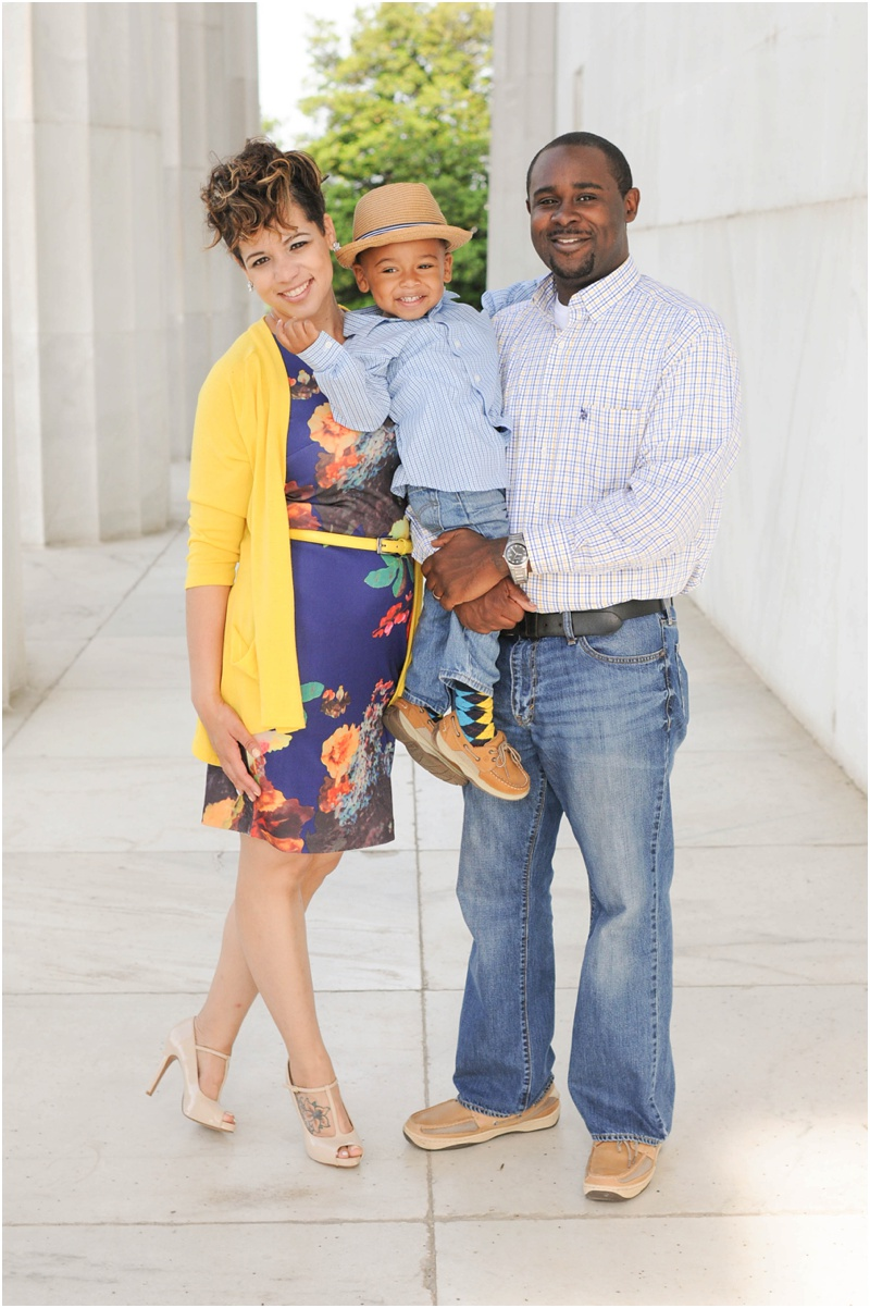 Tyler Family Portrait at the Lincoln Memorial-83