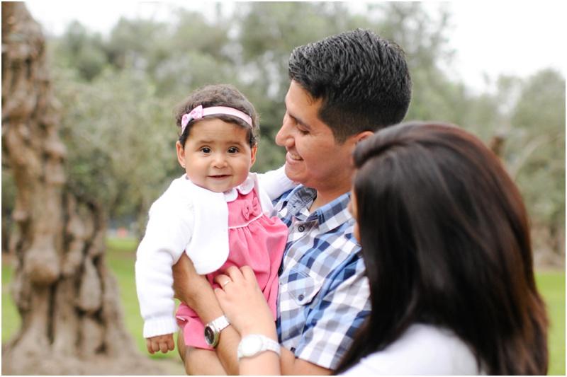 Family Portrait in Lima Peru