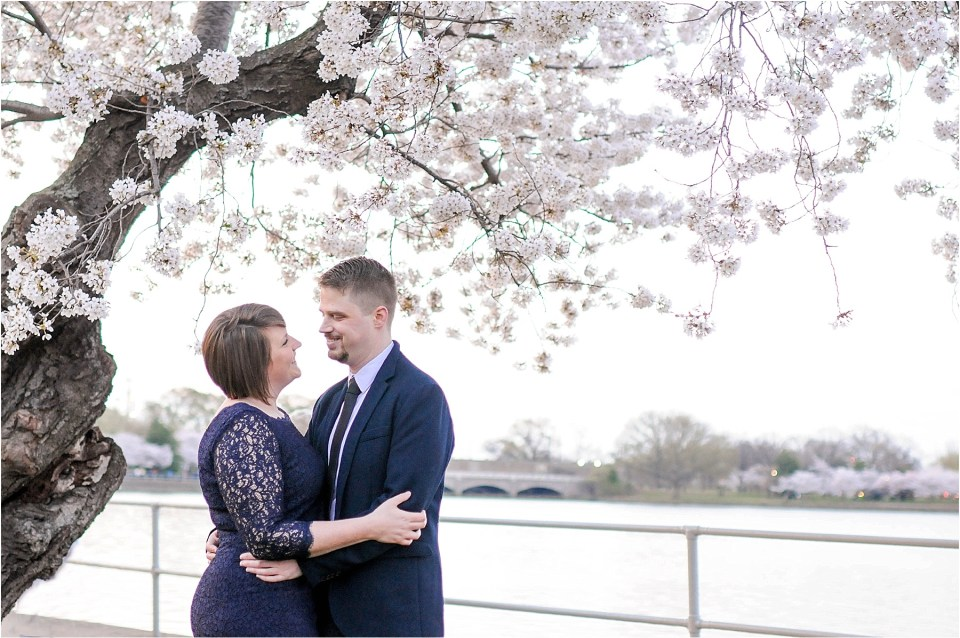 Washington DC Cherry Blossom Engagement | Ana Isabel Photography