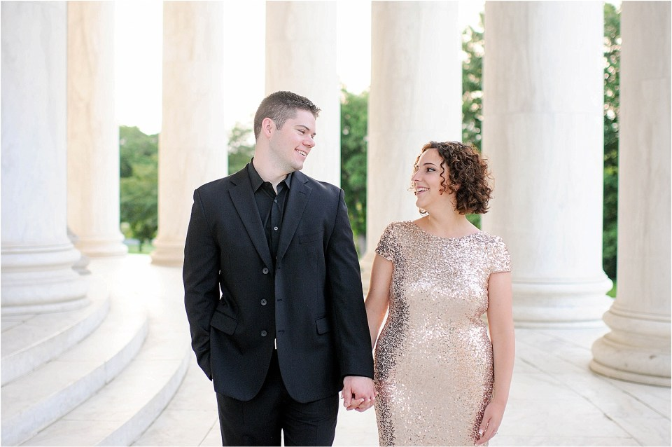 Classic Washington DC engagement session at the Jefferson Memorial48