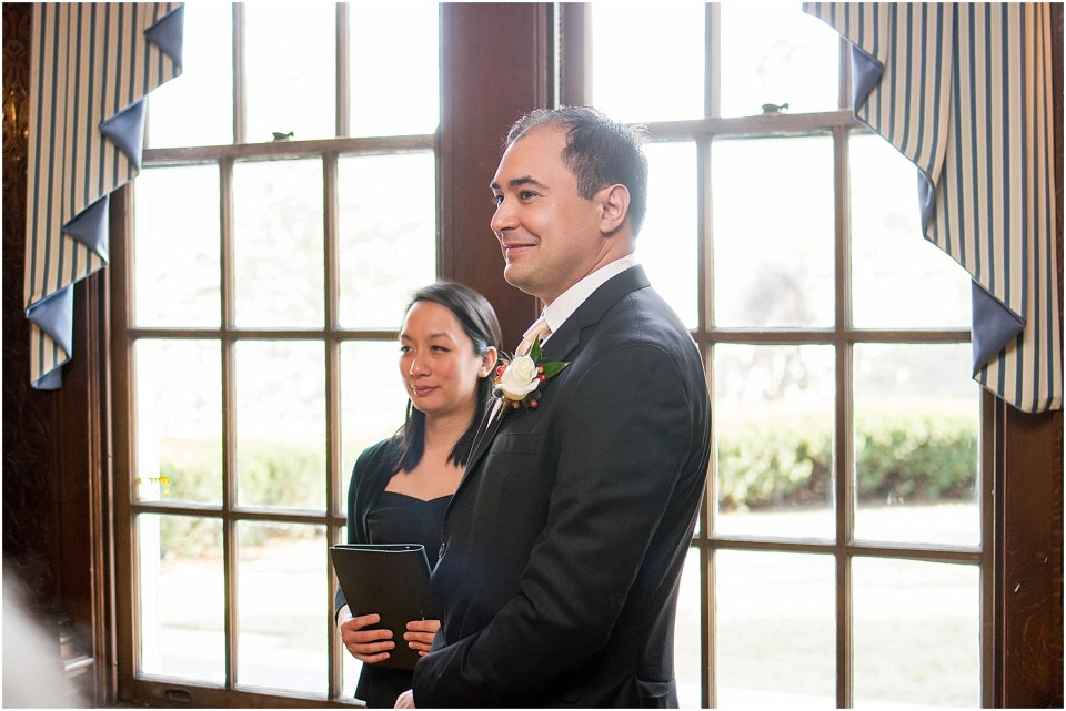 Small intimate wedding at Mansion at Strathmore | Ana Isabel Photography 24