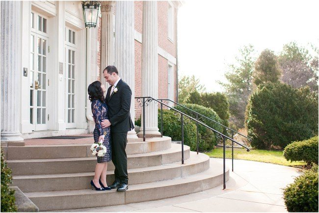 Small intimate wedding at Mansion at Strathmore | Ana Isabel Photography 45