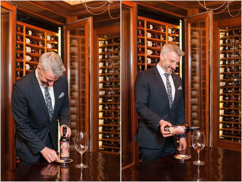 Sommelier and Wine Director David Metz at Michelin Star restaurant Plume in a luxury hotel The Jefferson Hotel 6