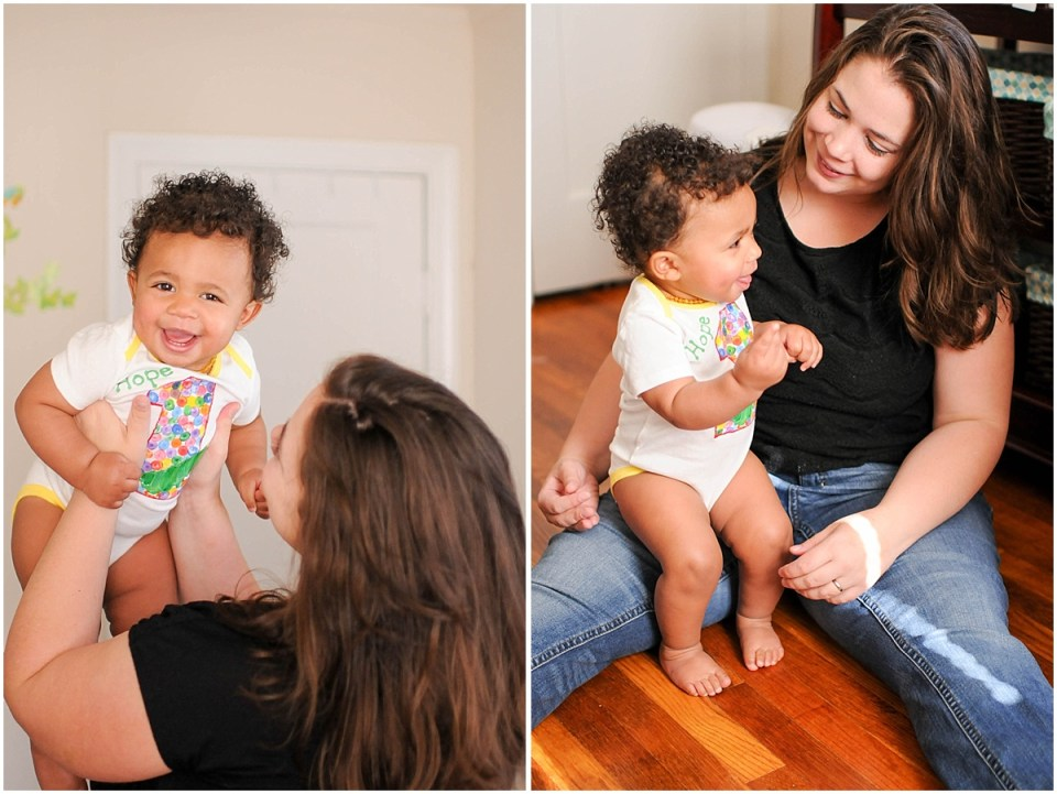 Maryland and DC at home indoor family portrait | Ana Isabel Photography 2