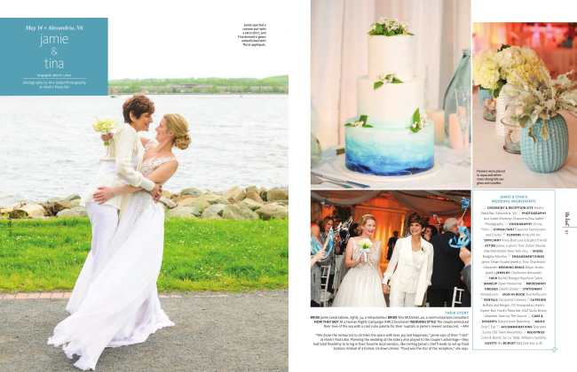 The Knot wedding feature photographed by Ana Isabel Photography