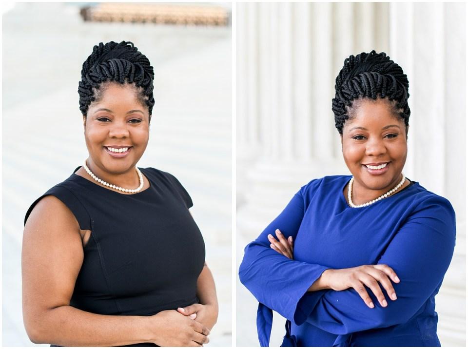Professional black executive woman