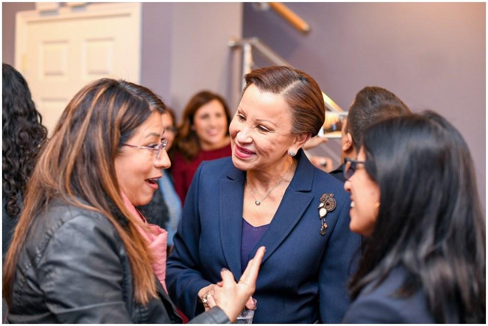 Congresswoman Nydia Velazquez photographed by political event photographer