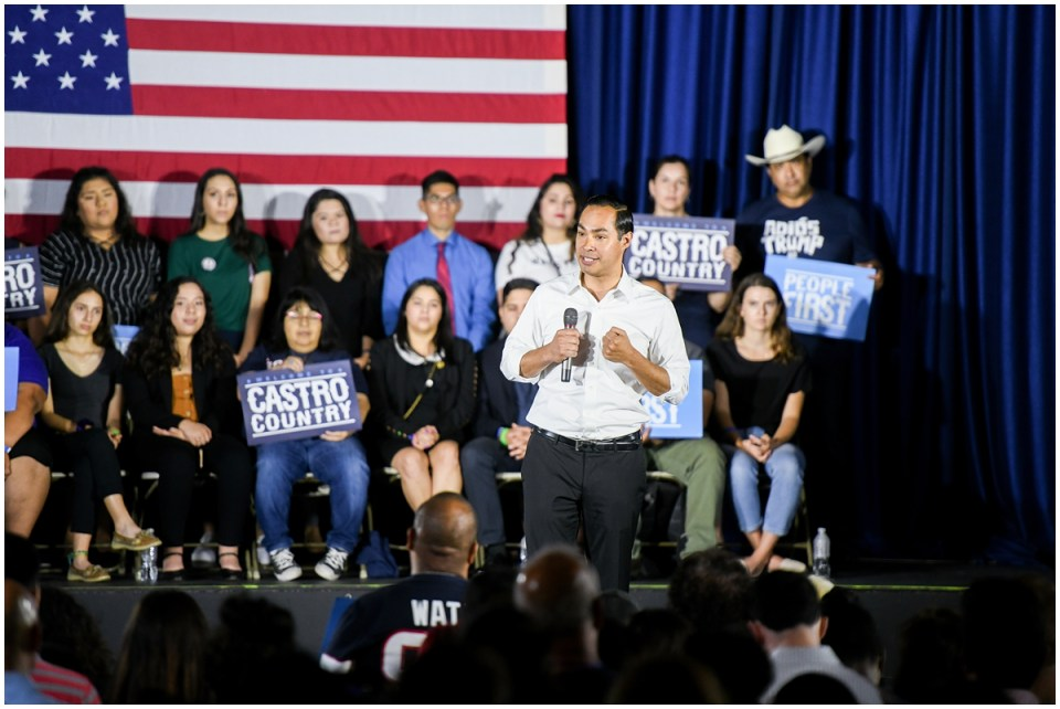 Julian Castro presidential campaign photographer Ana Isabel Martinez Chamorro