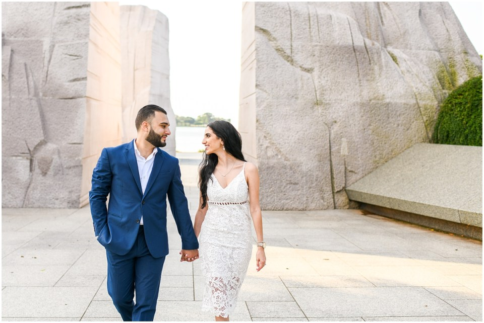 Washington DC engagement photos