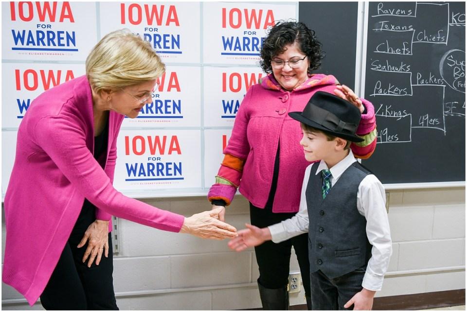 Political campaign portrait photographer