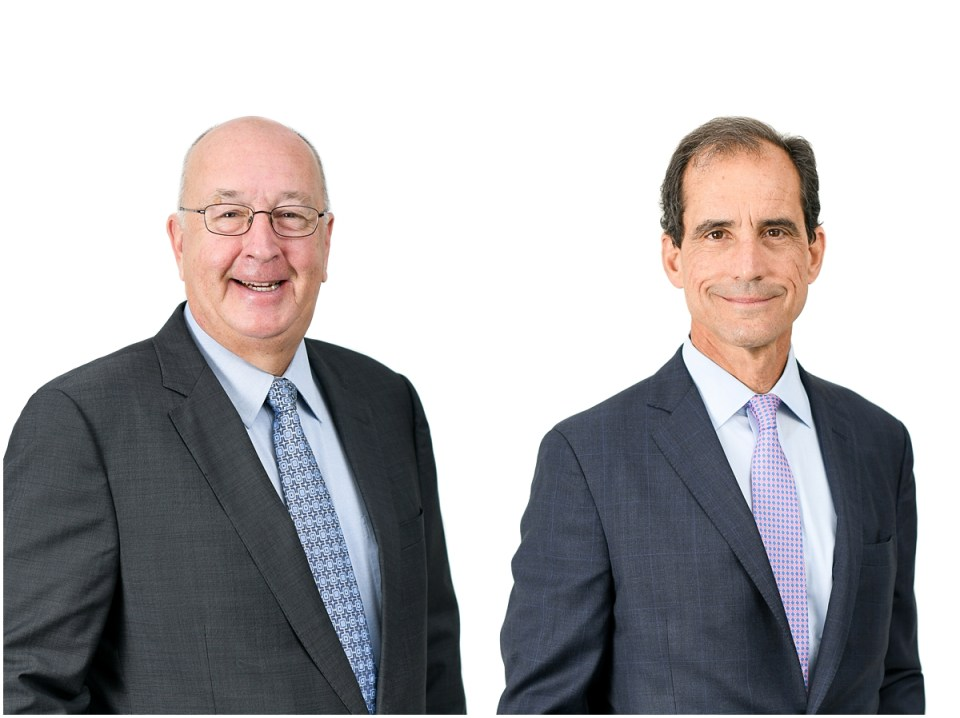 Board member photographs on white background
