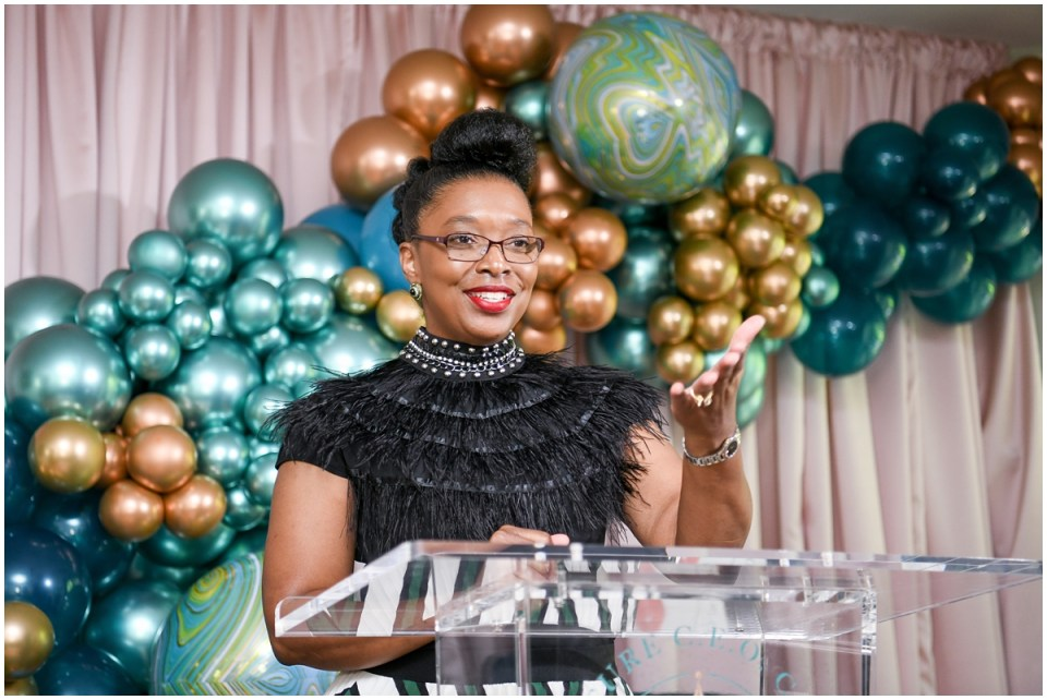 Black woman led conference for business owners and entrepreneurs