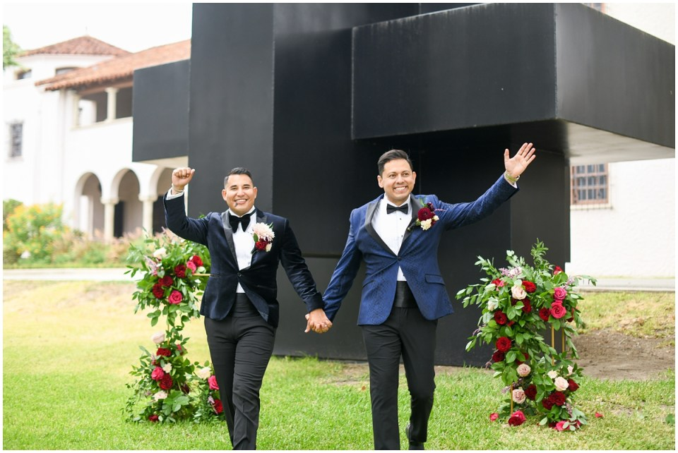 LGBTQ+ Gay Wedding at the McNay Art Museum