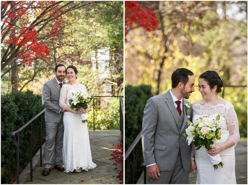 Micro wedding at Strathmore