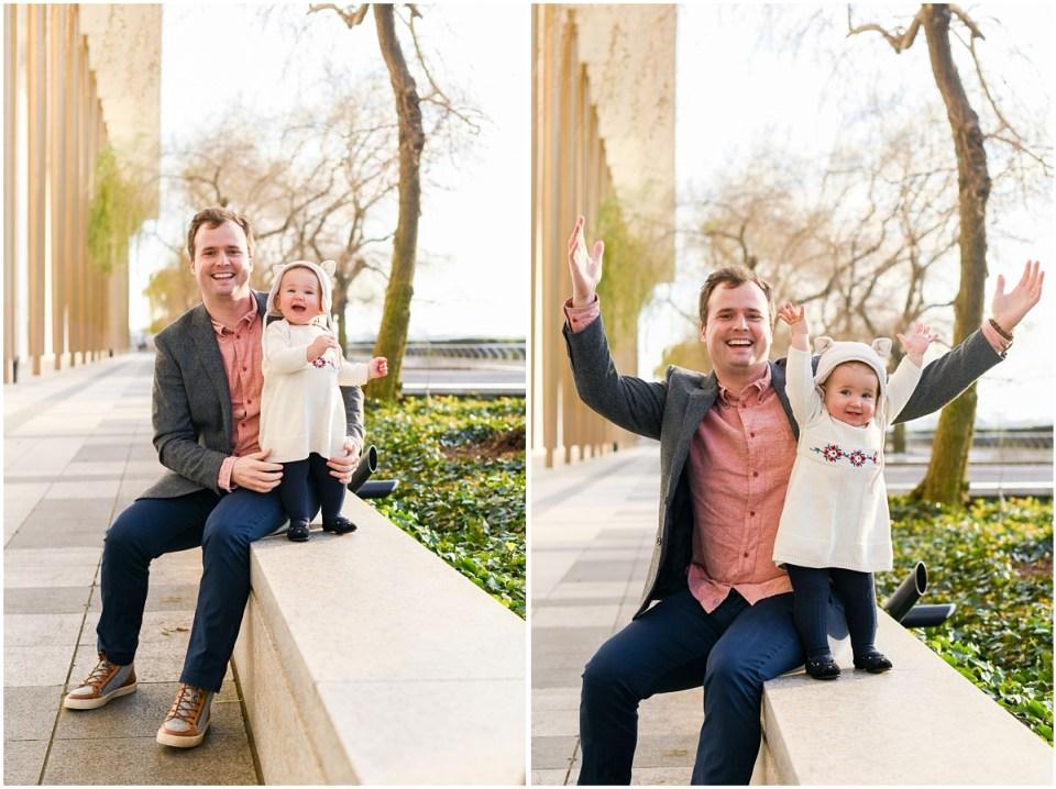 Family portrait photographer in Washington DC