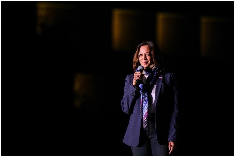 On the campaign trail with Senator Kamala Harris