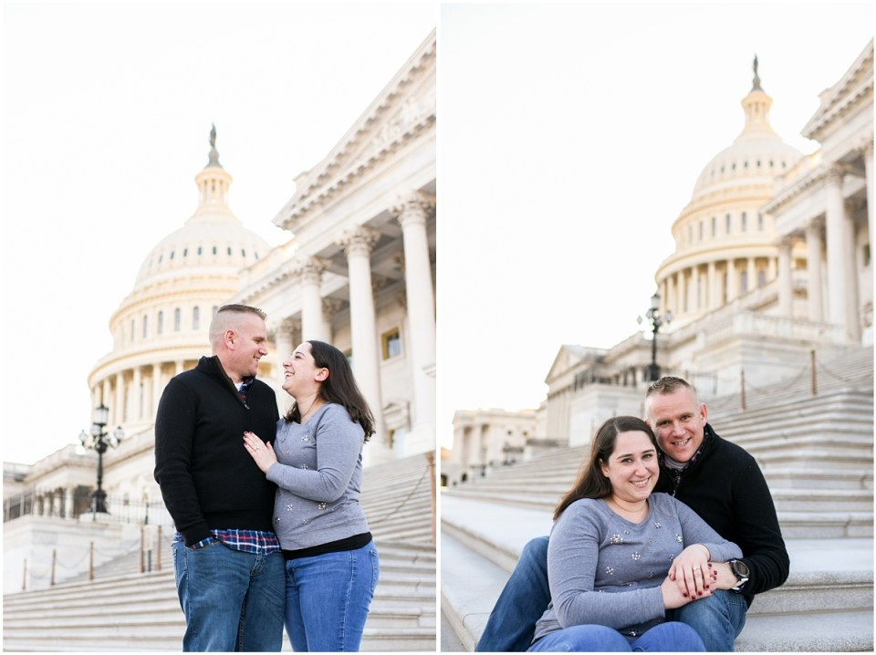 US Capitol Engagement session