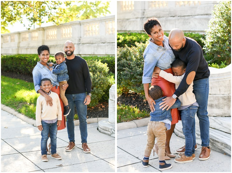 Washington DC black family photographer