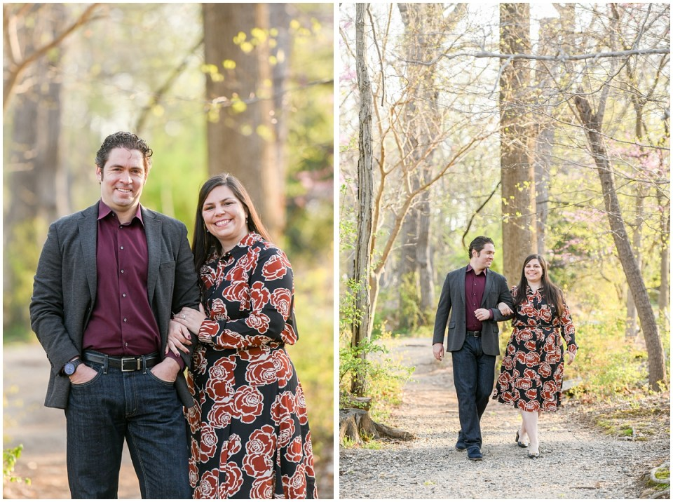 Outdoorsy engagement session