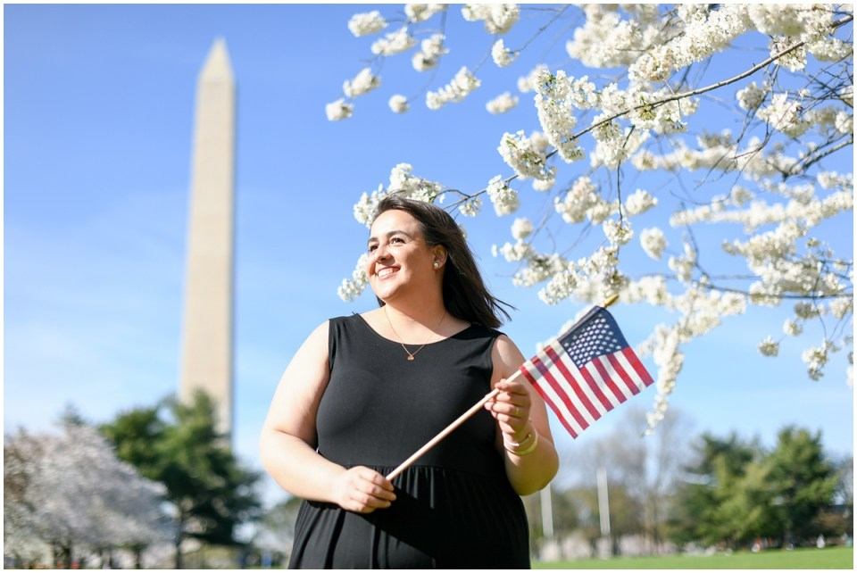 Latina immigrant photographer in Washington, DC