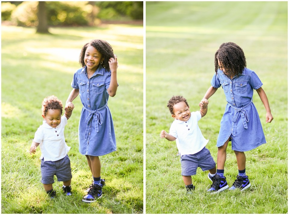 Multicultural family photographer in Maryland