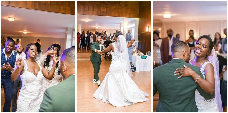 Maryland wedding photographer at Overhills Mansion
