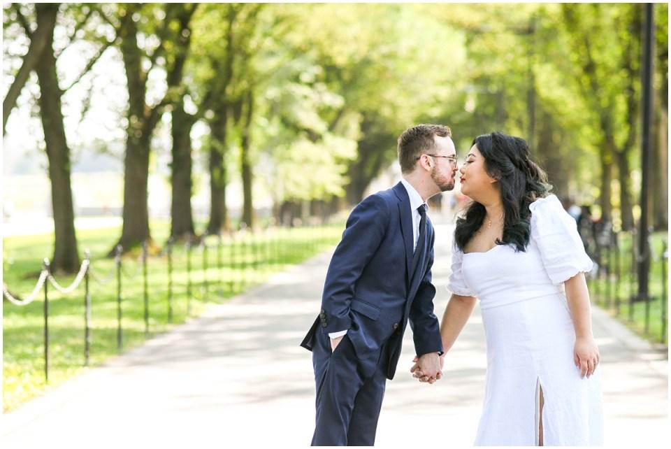 DC War Memorial elopement